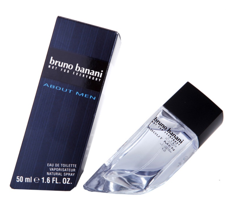 Bruno Banani About Men Eau de Toilette voor Mannen 50 ml