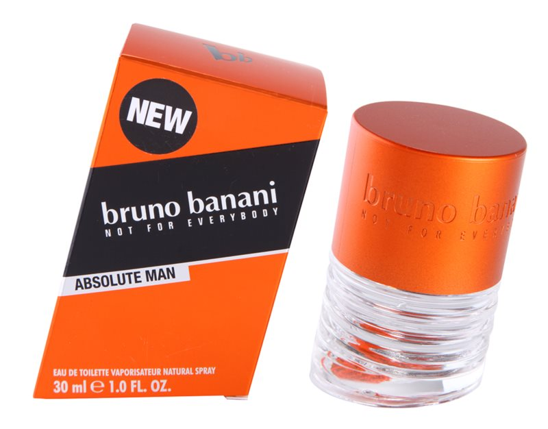 Bruno Banani Absolute Man Eau de Toilette for Men 30 ml
