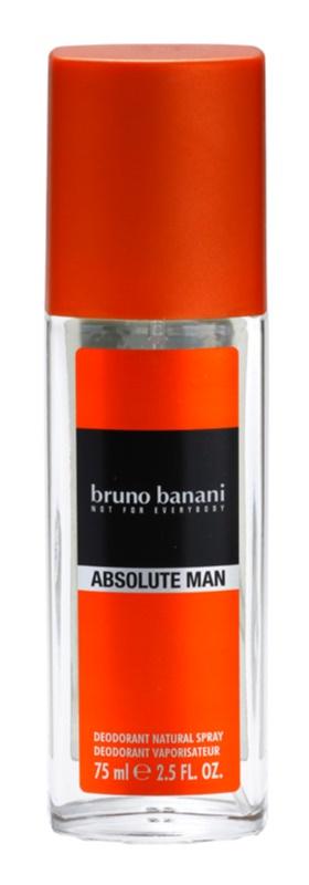 Bruno Banani Absolute Man deodorant s rozprašovačem pro muže 75 ml