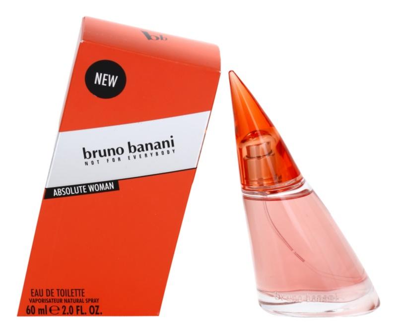 Bruno Banani Absolute Woman Eau de Toilette voor Vrouwen  60 ml
