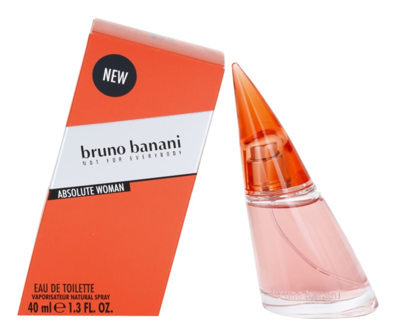 Bruno Banani Absolute Woman Eau de Toilette for Women 40 ml