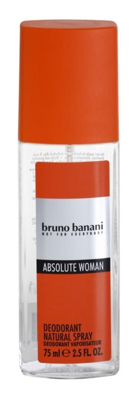 Bruno Banani Absolute Woman deodorante con diffusore per donna 75 ml