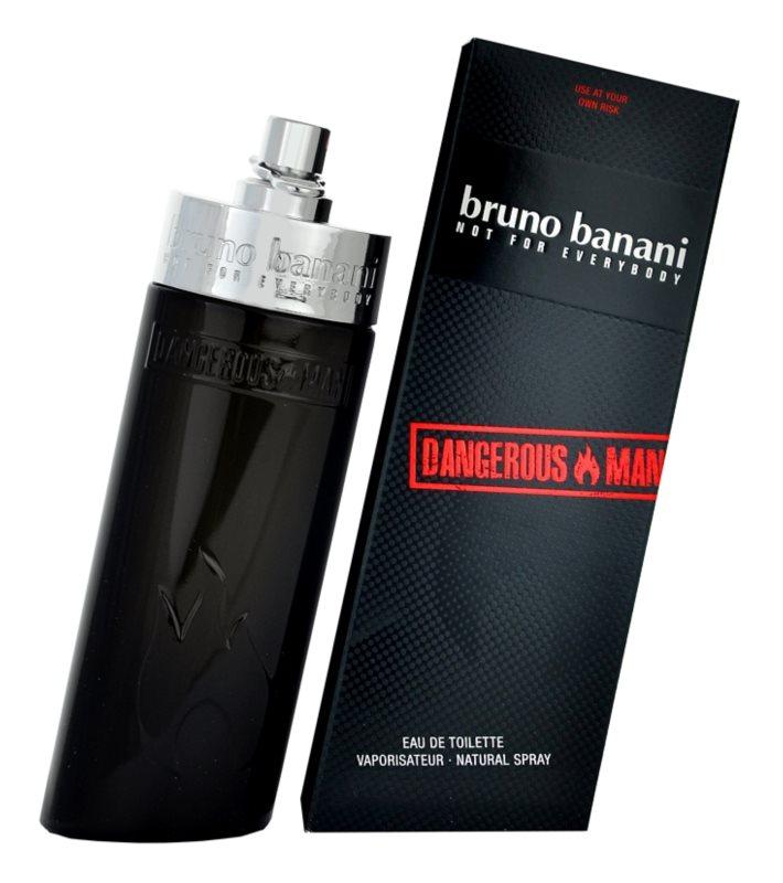 Bruno Banani Dangerous Man Eau de Toilette voor Mannen 50 ml