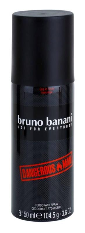 Bruno Banani Dangerous Man Deo-Spray für Herren 150 ml