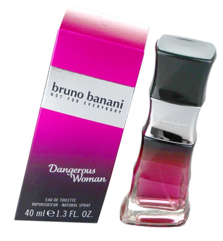 Bruno Banani Dangerous Woman eau de toilette pentru femei 40 ml