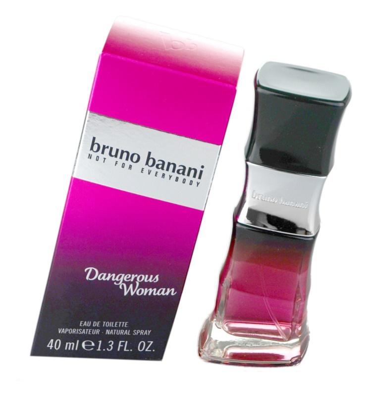 Bruno Banani Dangerous Woman eau de toilette pour femme 40 ml