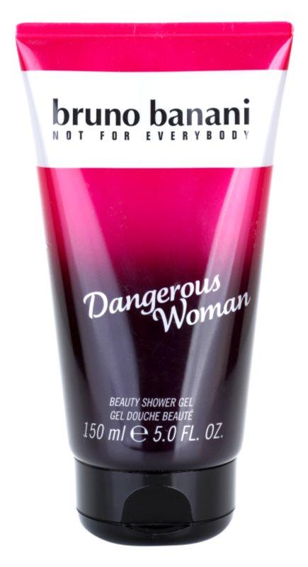 Bruno Banani Dangerous Woman gel douche pour femme 150 ml