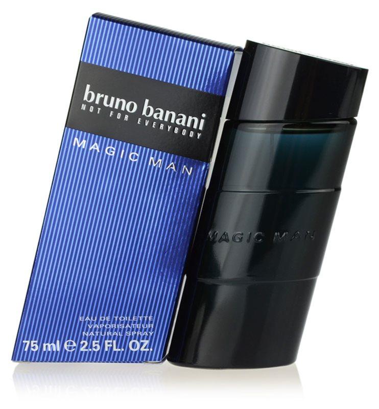 Bruno Banani Magic Man Eau de Toilette für Herren 75 ml