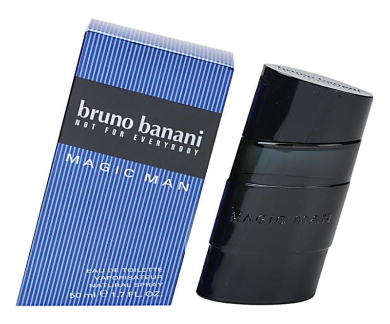 Bruno Banani Magic Man eau de toilette pour homme 50 ml