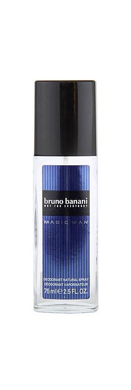 Bruno Banani Magic Man déodorant avec vaporisateur pour homme 75 ml