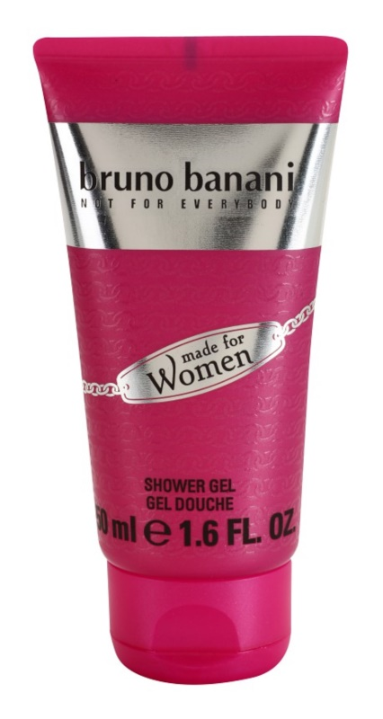 Bruno Banani Made for Women gel douche pour femme 50 ml
