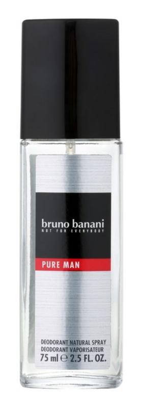 Bruno Banani Pure Man Deo met verstuiver voor Mannen 75 ml