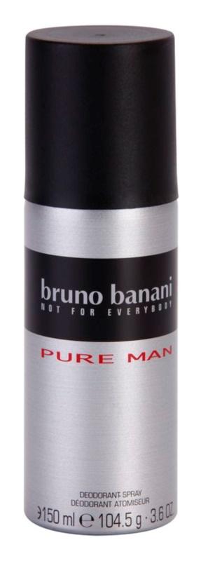Bruno Banani Pure Man Deo Spray voor Mannen 150 ml
