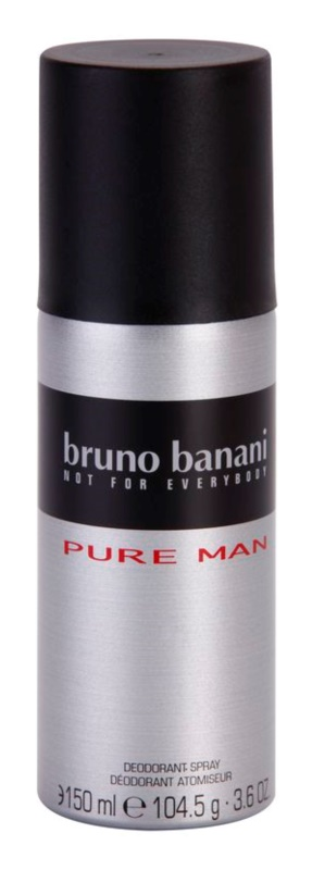 Bruno Banani Pure Man deodorant Spray para homens 150 ml