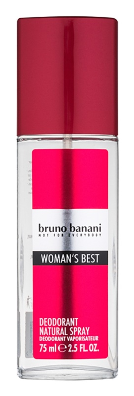 Bruno Banani Woman's Best Perfume Deodorant for Women 75 ml