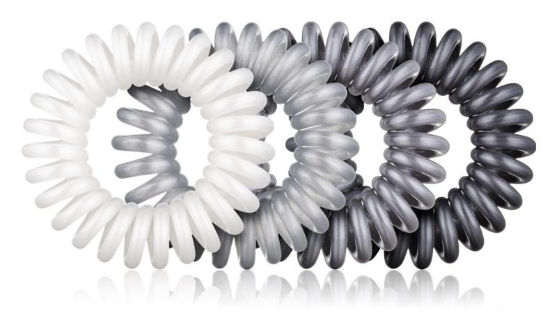 BrushArt Hair Rings gumička do vlasů 4 ks
