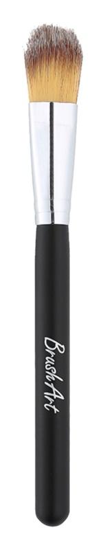 BrushArt Face Pinsel zum Auftragen von flüssigem oder Creme-Make up