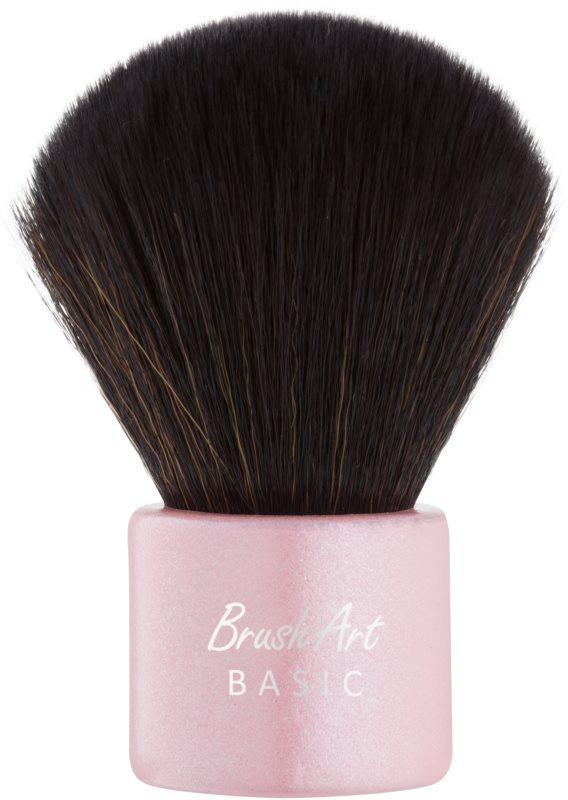BrushArt Basic Pink Perie Kabuki machiaj
