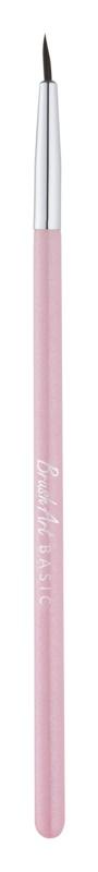BrushArt Basic Pink pensula pentru eyeliner