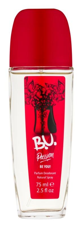 B.U. Passion Deo met verstuiver voor Vrouwen  75 ml