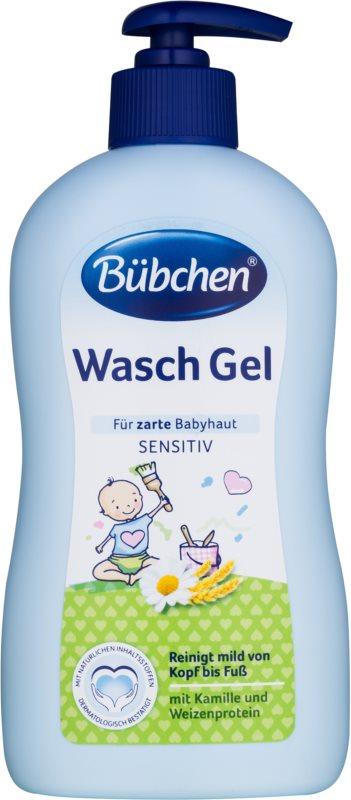 Bübchen Wash gel para lavar con manzanilla y extracto de avena
