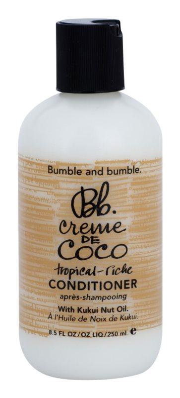 Bumble and Bumble Creme De Coco glättender Conditioner für unartiges und strapaziertes Haar