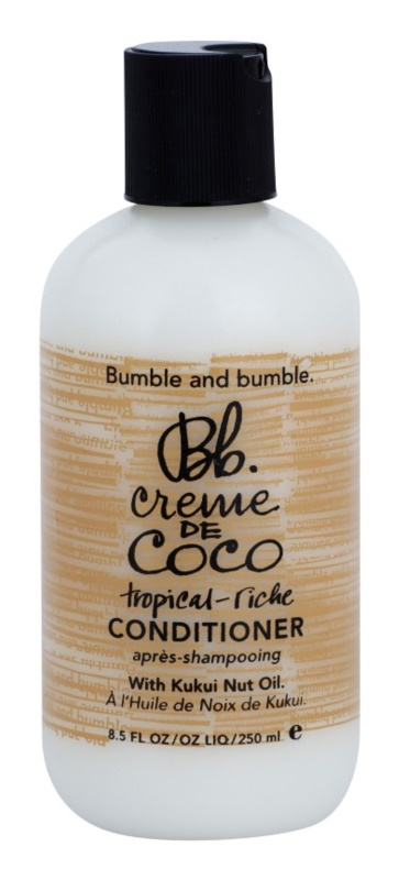 Bumble and Bumble Creme De Coco odżywka wygladzająca puszące i elektryzujące się włosy