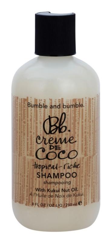 Bumble and Bumble Creme De Coco šampon pro uhlazení poletujících a krepatých vlasů
