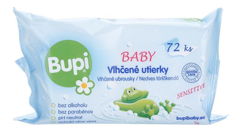 Bupi Baby finom nedves törlőkendők gyermekeknek