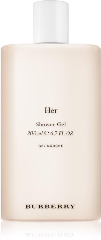 Burberry Her sprchový gel pro ženy 200 ml