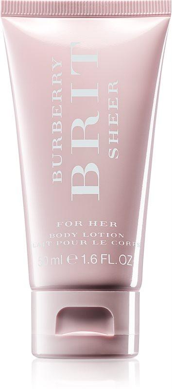 Burberry Brit Sheer losjon za telo za ženske 50 ml