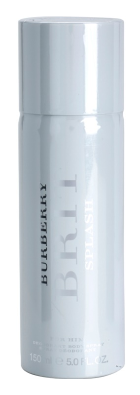 Burberry Brit Splash deospray pentru barbati 150 ml