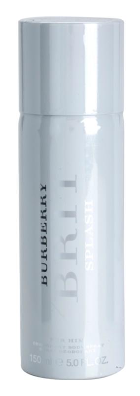 Burberry Brit Splash dezodorant w sprayu dla mężczyzn 150 ml