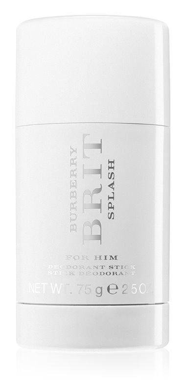 Burberry Brit Splash dédorant stick pour homme 75 g