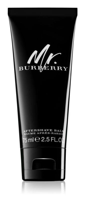 Burberry Mr. Burberry balzám po holení pre mužov 75 ml