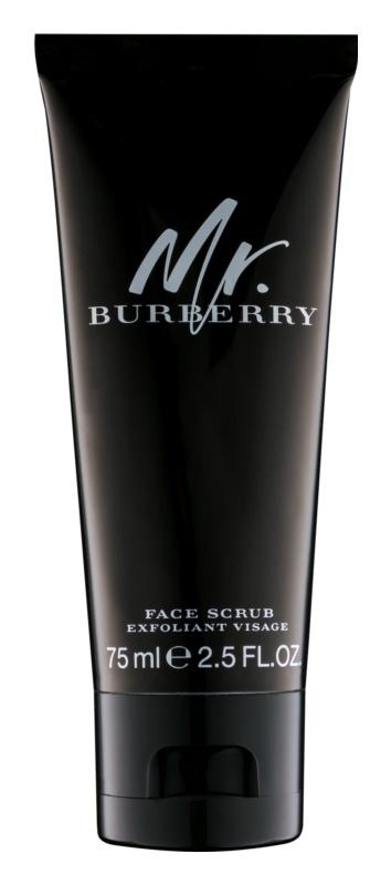 Burberry Mr. Burberry Pleťový peeling pre mužov 75 ml