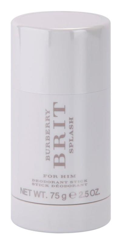 Burberry Brit Splash stift dezodor férfiaknak 75 g