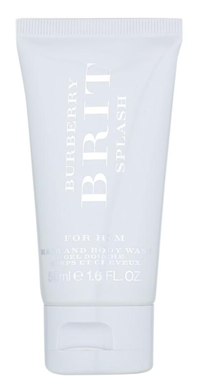 Burberry Brit Splash gel doccia per uomo 50 ml