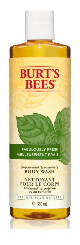 Burt's Bees Peppermint & Rosemary gel de dus revigorant