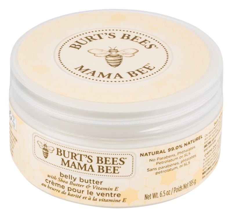 Burt's Bees Mama Bee vyživující tělové máslo na břicho a pas