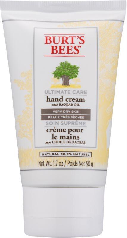 Burt's Bees Ultimate Care krem do rąk do bardzo suchej skóry