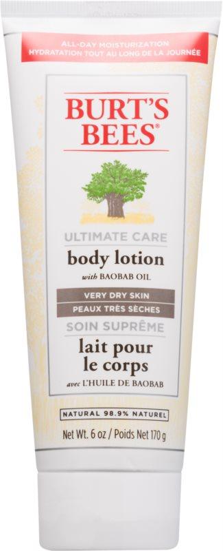 Burt's Bees Ultimate Care lotiune de corp pentru piele foarte uscata