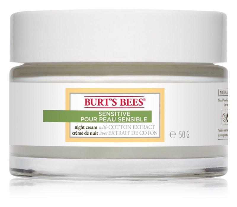 Burt's Bees Sensitive vlažilna nočna krema za občutljivo kožo