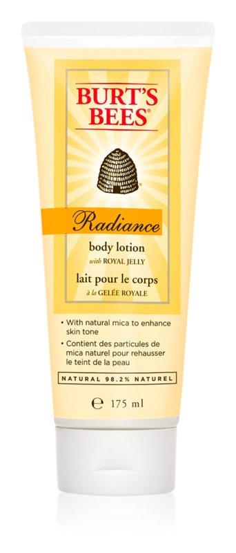 Burt's Bees Radiance ενυδατικό γαλάκτωμα σώματος για κανονικό δέρμα