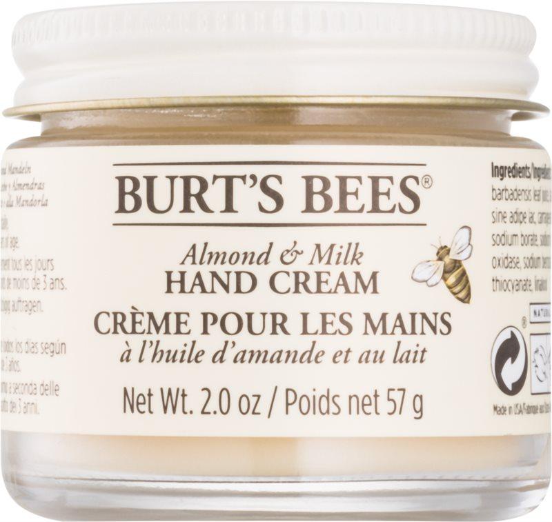Burt's Bees Almond & Milk Handcreme mit Mandelöl