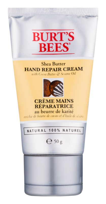 Burt's Bees Shea Butter Cocoa Butter & Sesame Oil κρέμα για τα χέρια με βούτυρο κακάο