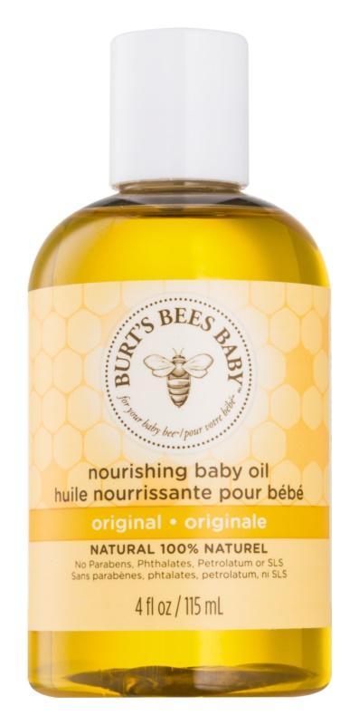 Burt's Bees Baby Bee ulei baie de pentru copii și corp cu efect de nutritiv