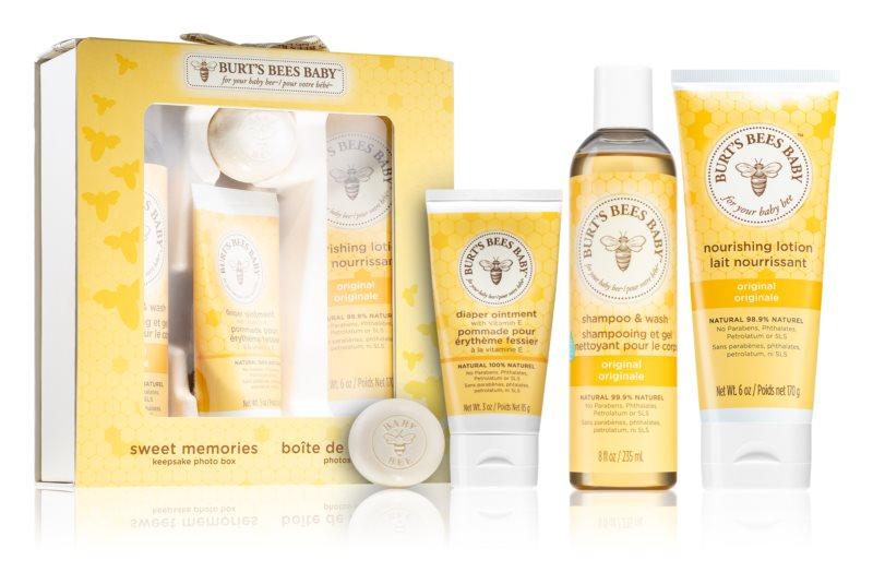 Burt's Bees Baby Bee set cosmetice II. (pentru copii)
