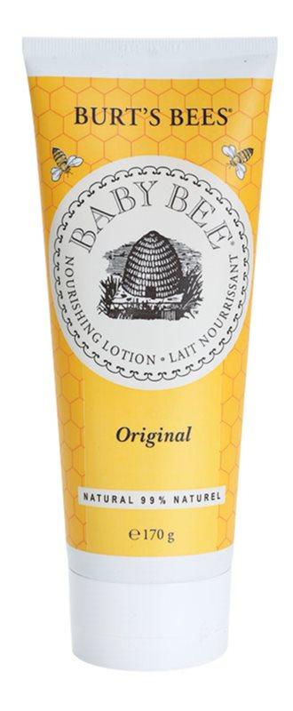 Burt's Bees Baby Bee testápoló tej bambusszal