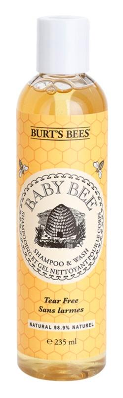 Burt's Bees Baby Bee σαμπουάν και τζελ πλυσίματος 2 σε 1 για καθημερινή χρήση